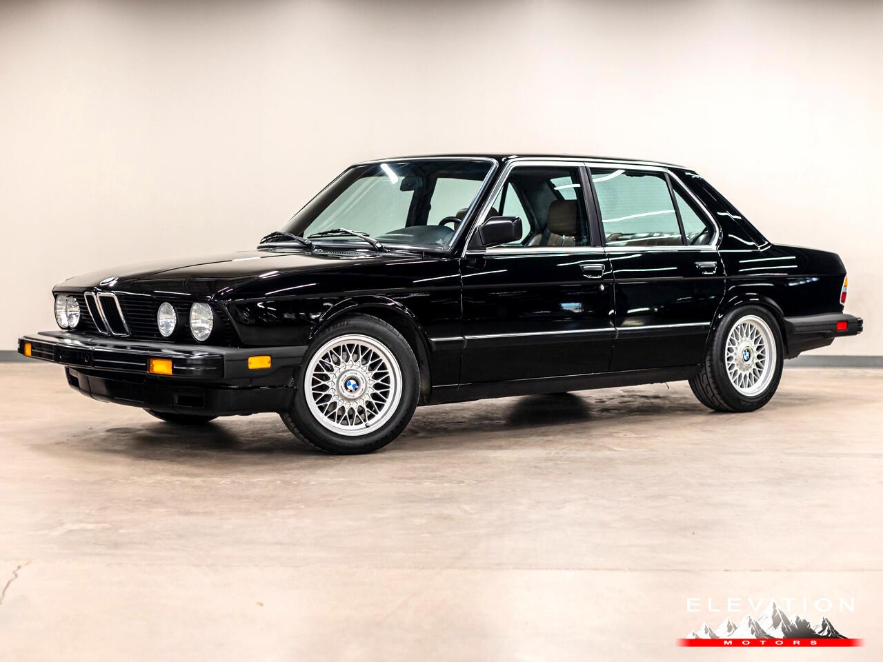 BMW 5-Series 535i 1985