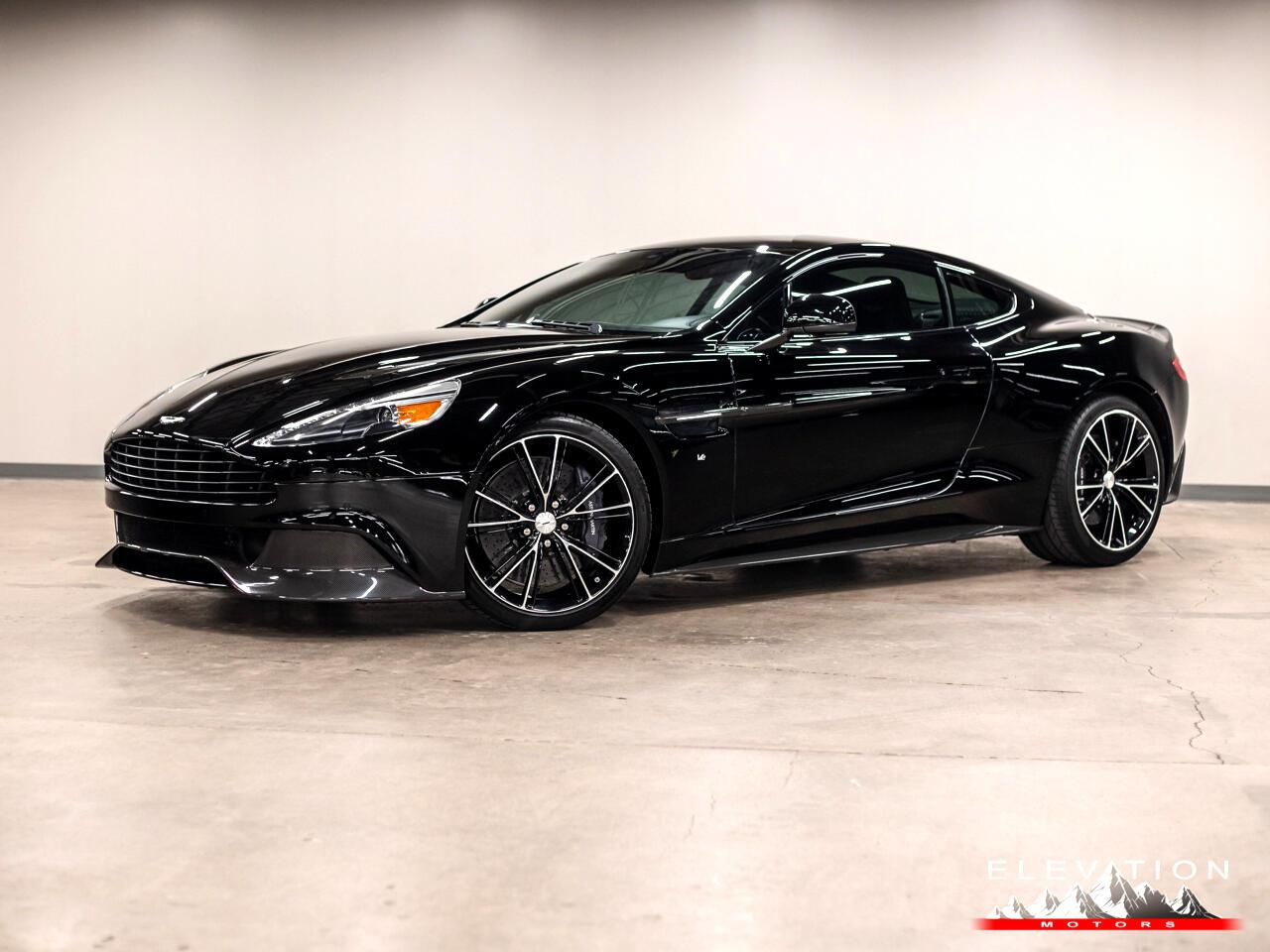 Aston Martin Vanquish Coupe 2016