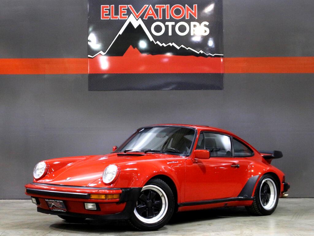 1986 Porsche 911 Turbo