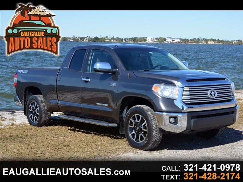 Toyota Tundra Limited 5.7L FFV Double Cab 4WD 2015