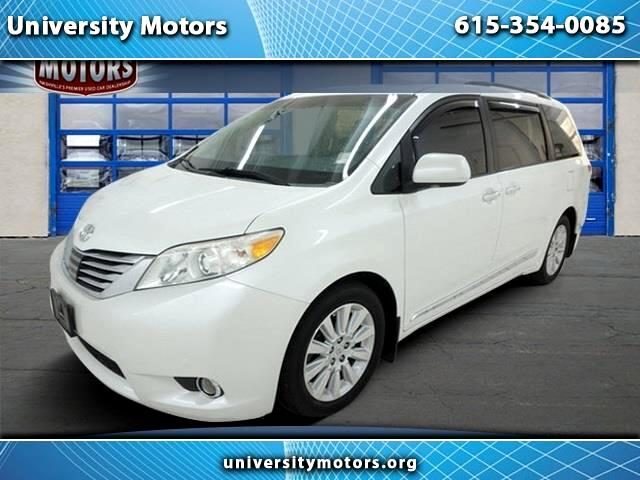 2012 Toyota Sienna 5dr 7-Pass Van V6 XLE AAS FWD (Natl)