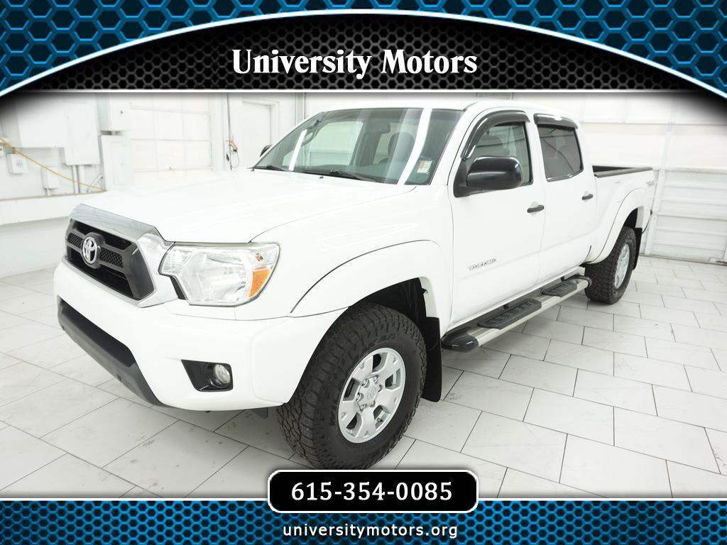 Toyota Tacoma 2WD Double Cab LB V6 AT PreRunner (Natl) 2013