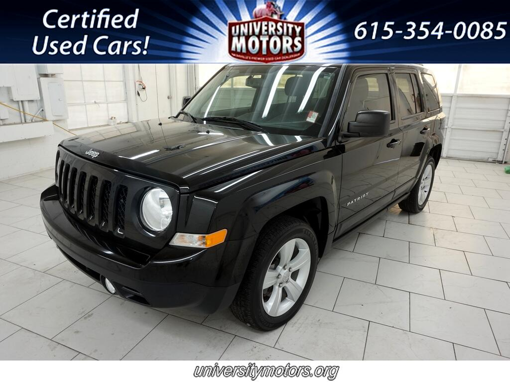 Jeep Patriot FWD 4dr Latitude 2016