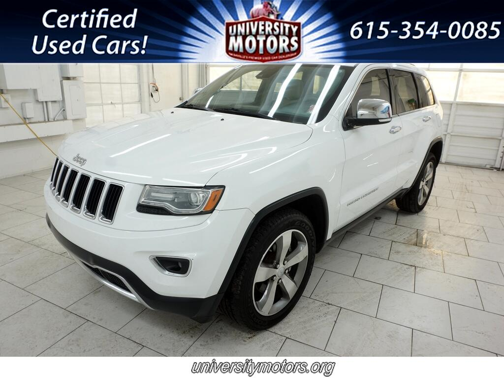 Jeep Grand Cherokee 4dr Limited 2014