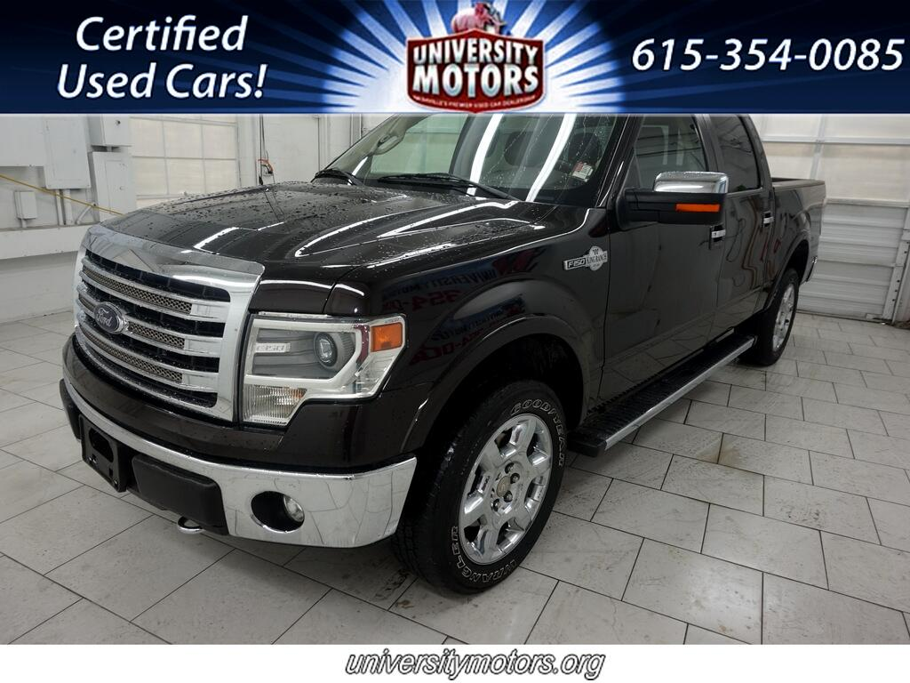 "Ford F-150 4WD SuperCrew 139"" King Ranch 2014"
