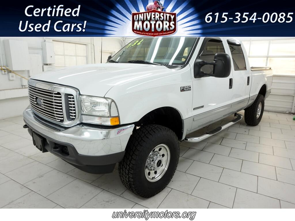 "Ford Super Duty F-250 4WD Crew Cab 156"" XLT 2002"