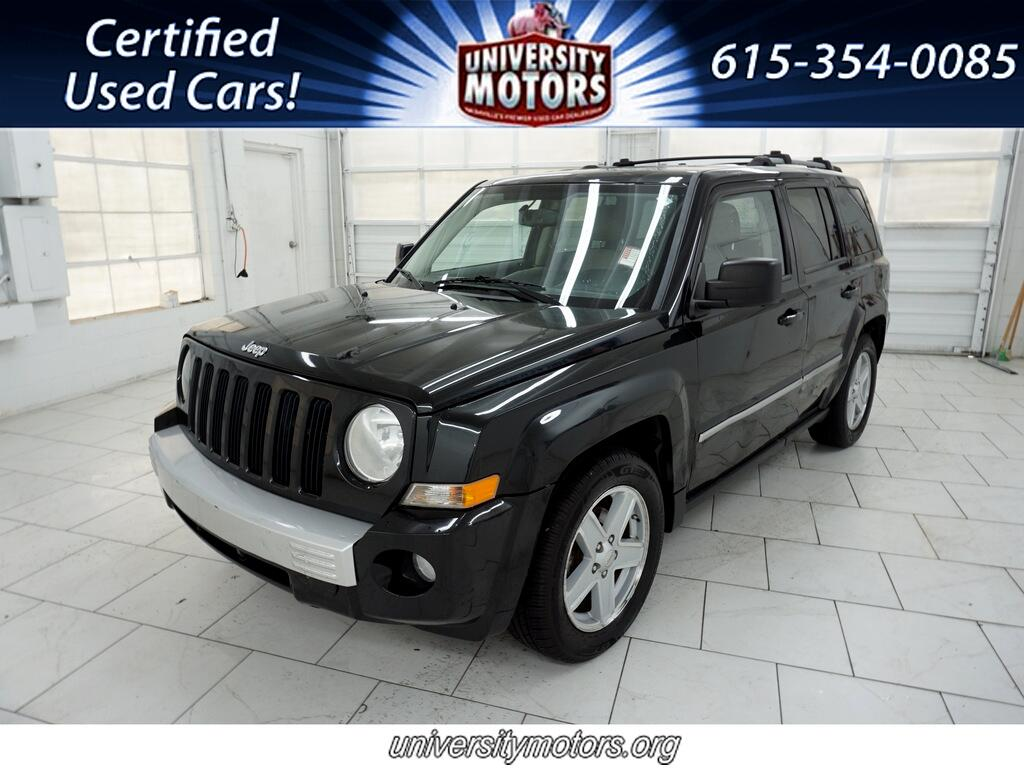Jeep Patriot FWD 4dr Limited 2010