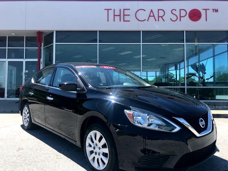 2016 Nissan Sentra S CVT