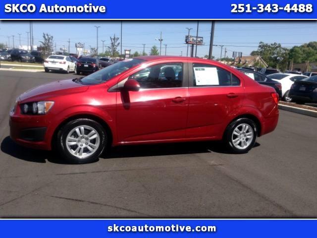 2012 Chevrolet Sonic 4dr Sdn LT 2LT