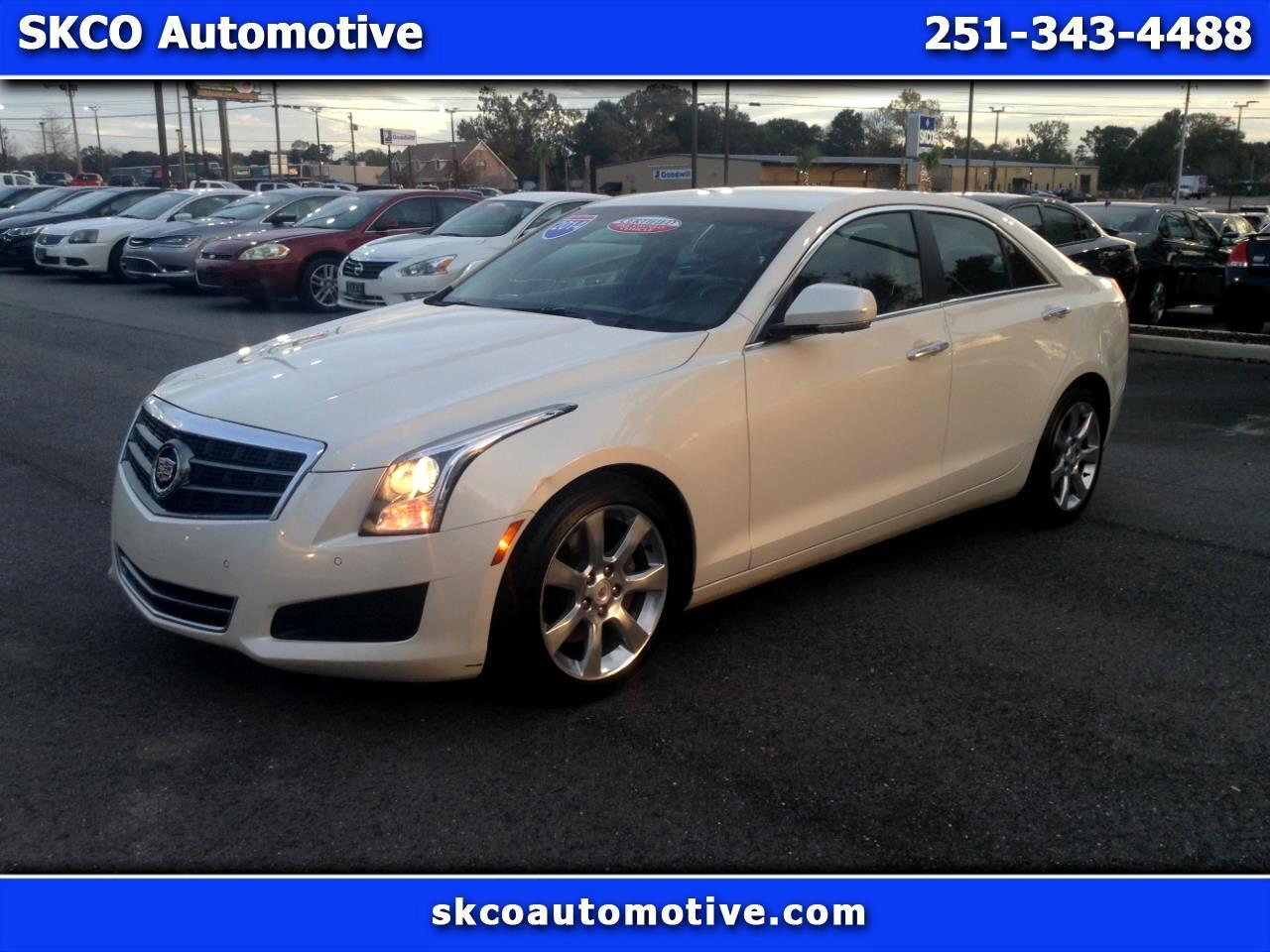2014 Cadillac ATS 4dr Sdn 2.5L Luxury RWD