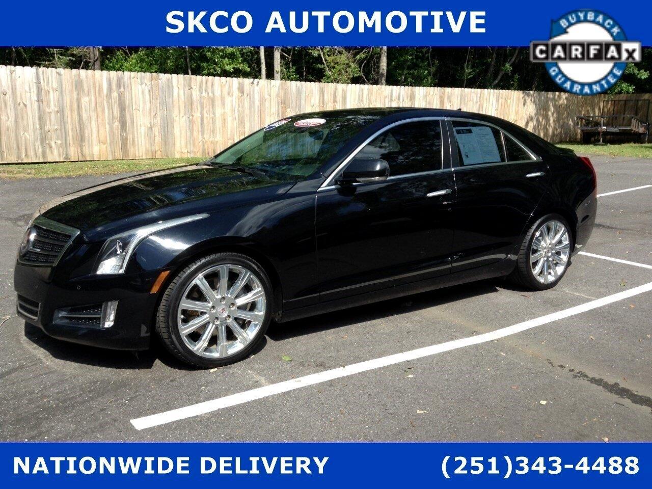 Cadillac ATS 4dr Sdn 3.6L Premium RWD 2013