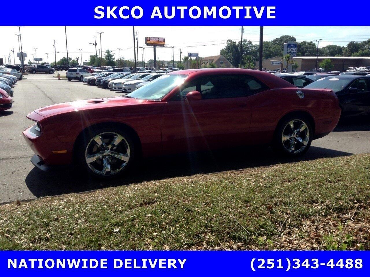 2012 Dodge Challenger 2dr Cpe R/T Plus