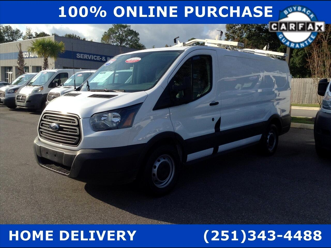 "Ford Transit Cargo Van T-150 130"" Low Rf 8600 GVWR Sliding RH Dr 2016"