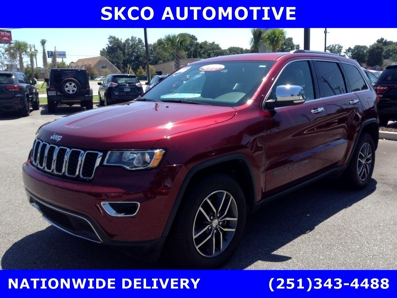 2018 Jeep Grand Cherokee Limited 4x2