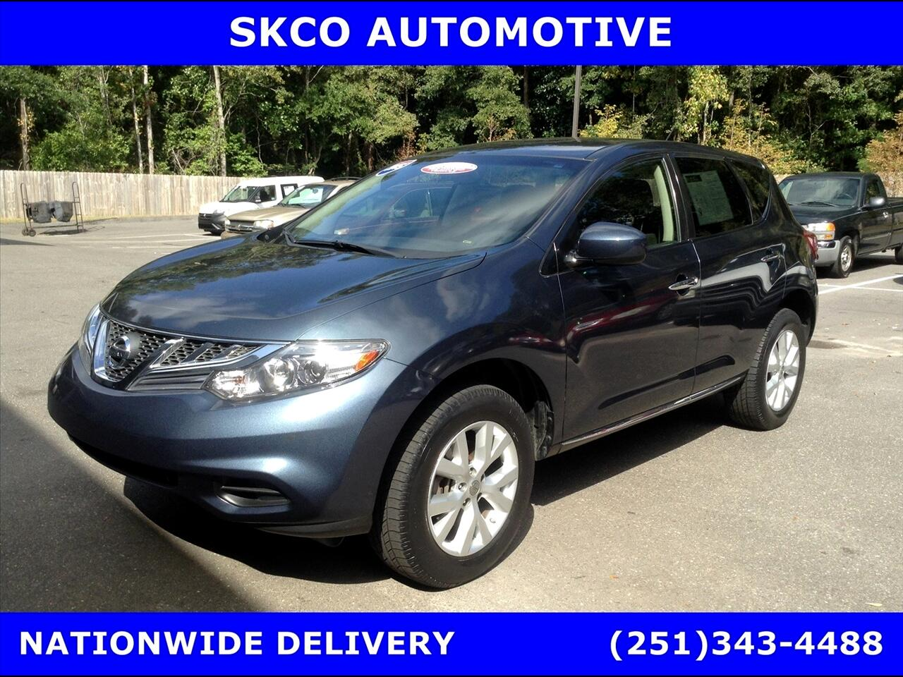2014 Nissan Murano FWD 4dr S