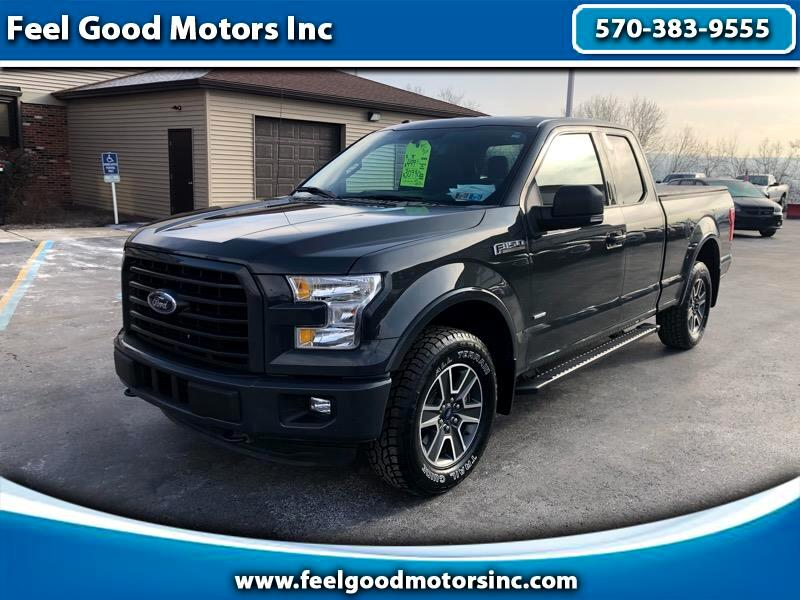 "2016 Ford F-150 4WD SuperCab 133"" XLT"