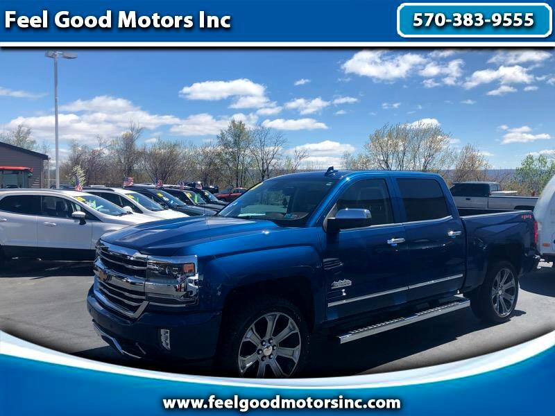 2018 Chevrolet Silverado 1500 High Country Crew Cab Long Box 4WD