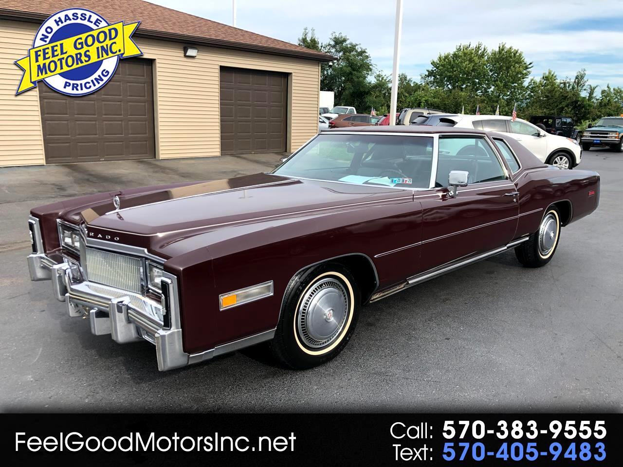 1977 Cadillac Eldorado 2dr Cpe