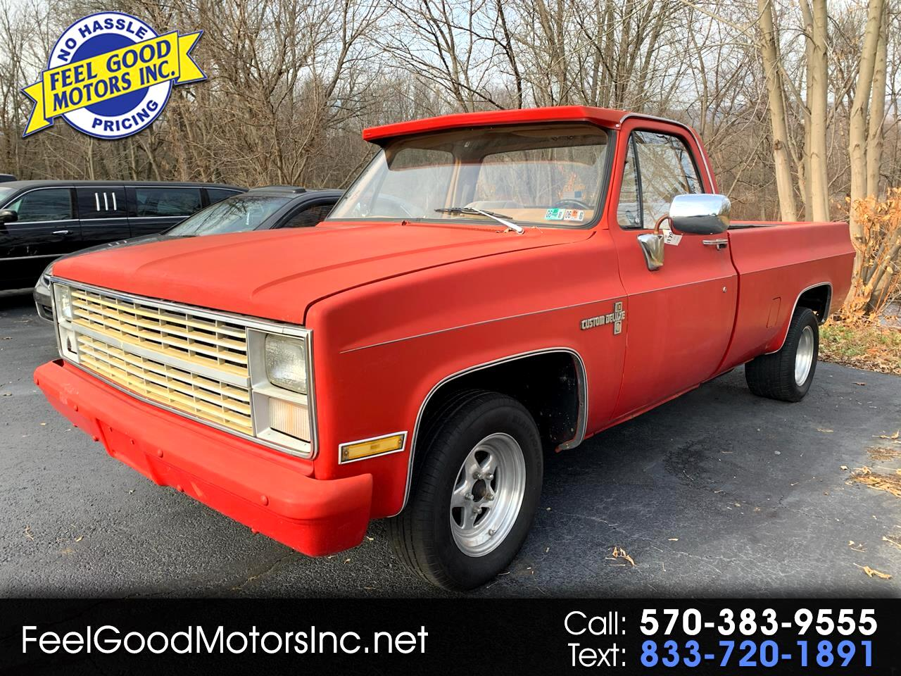 "Chevrolet 1/2 Ton Pickups Fleetside 131.5"" 1984"