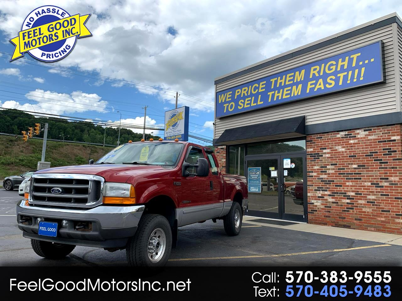 Ford F-250 SD XL SuperCab Long Bed 4WD 2001