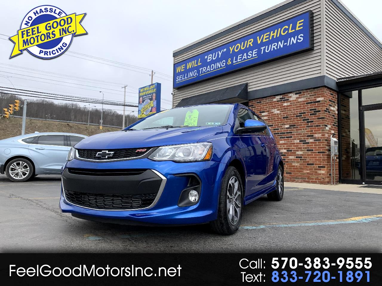 Chevrolet Sonic 4dr Sdn Auto RS 2020
