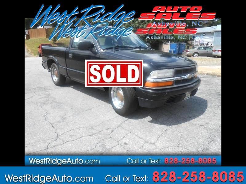 2001 Chevrolet S10 Pickup 2WD