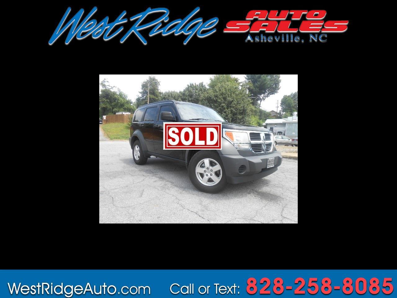 buy here pay here 2007 dodge nitro sxt 4wd for sale in asheville nc 28806 west ridge auto sales. Black Bedroom Furniture Sets. Home Design Ideas