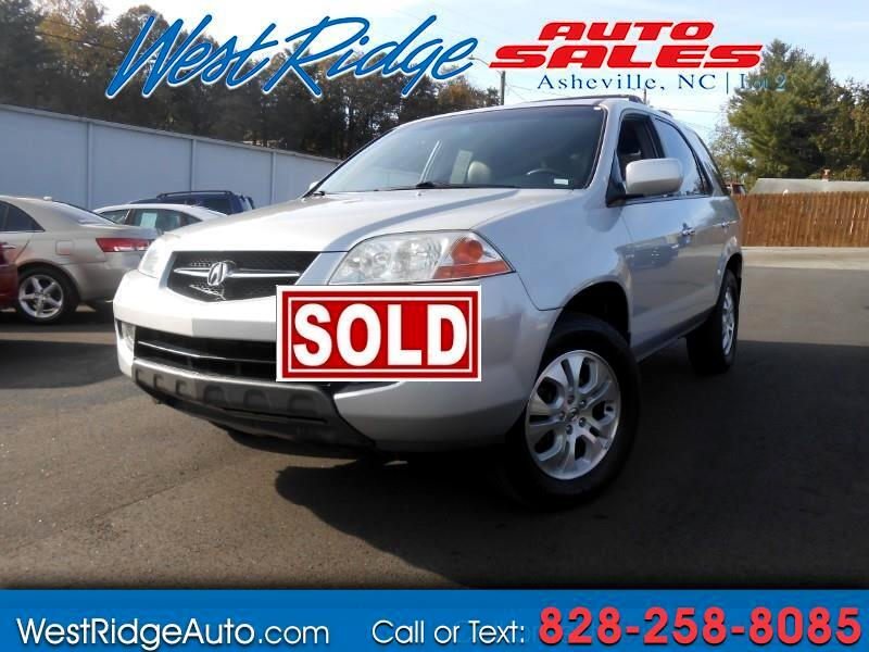 2003 Acura MDX Touring with Rear DVD System