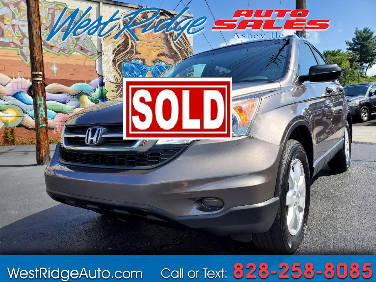 Honda CR-V SE 4WD 5-Speed AT 2011