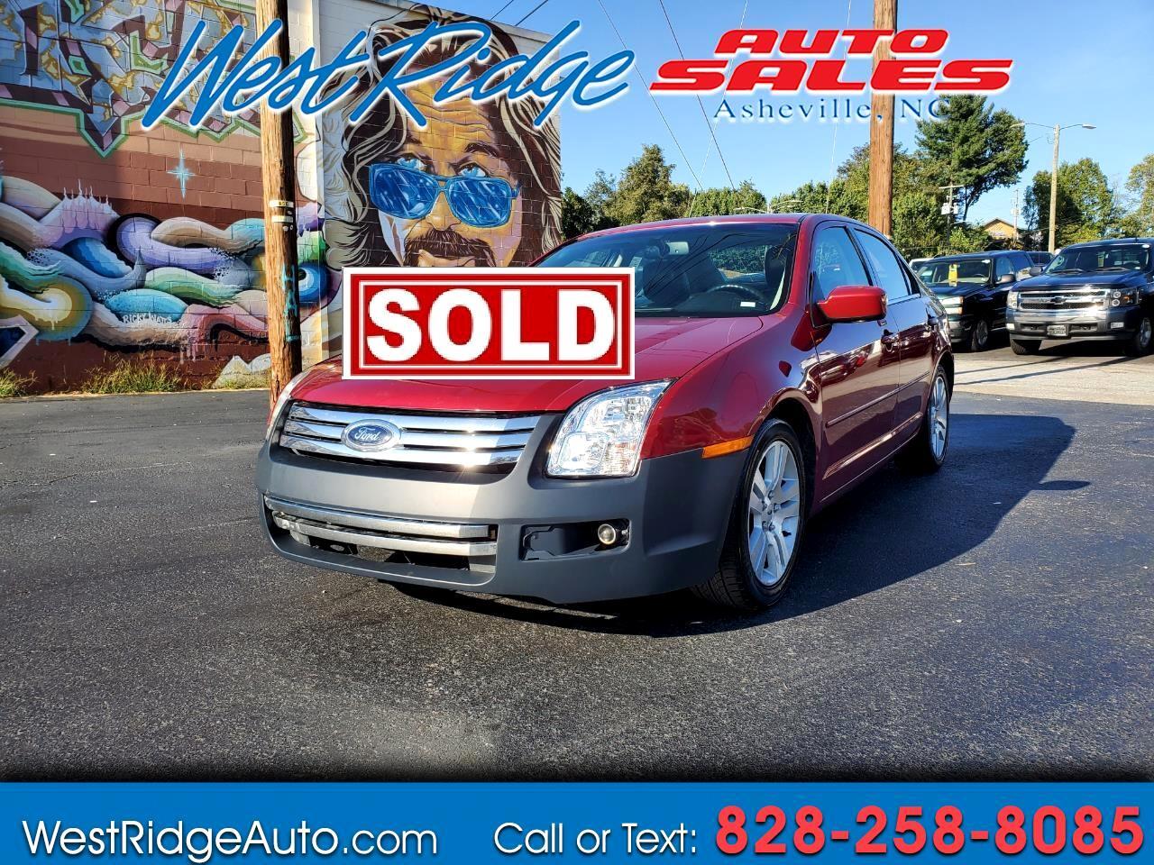 Ford Fusion I4 SEL 2009