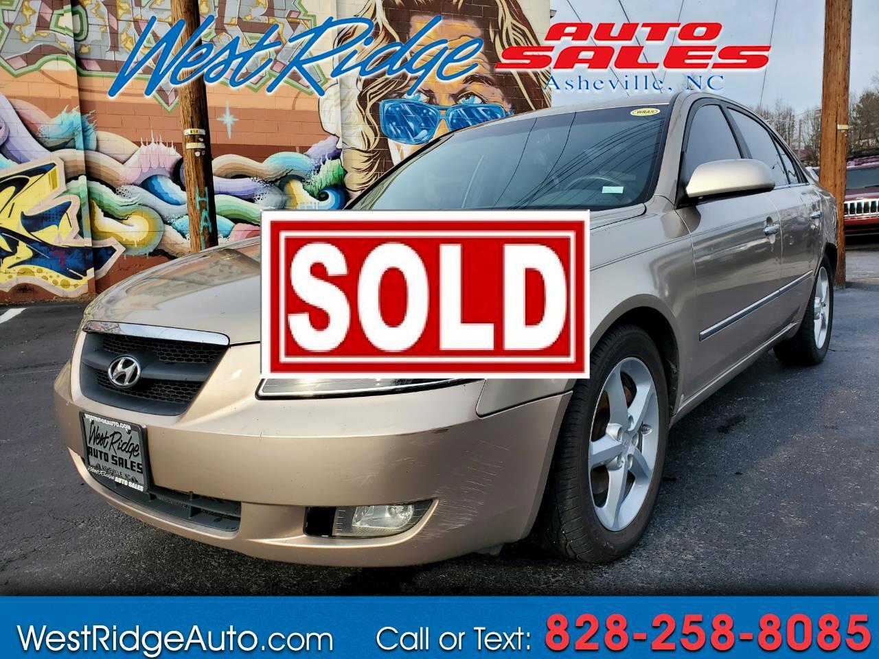 Hyundai Sonata Limited V6 2008
