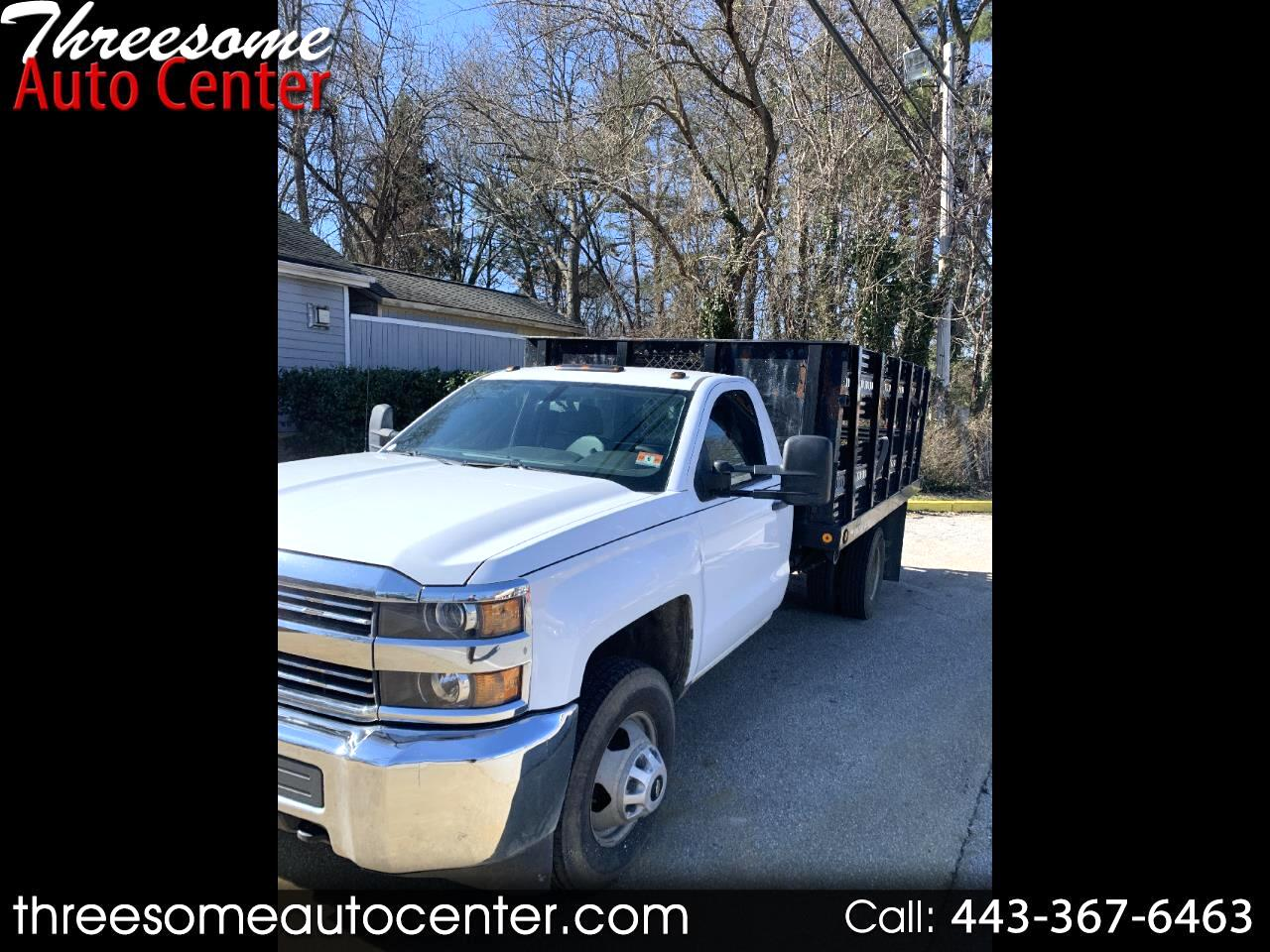Chevrolet Silverado 3500HD Work Truck Long Box 2WD 2015