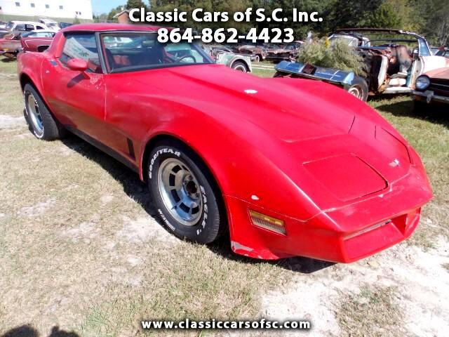 1982 Chevrolet Corvette 2dr Cpe