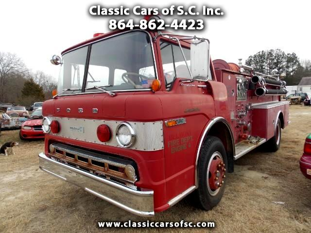 1972 Ford Fire Truck