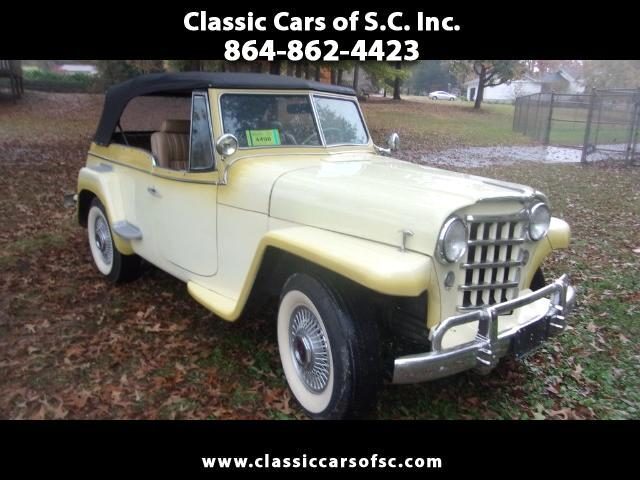 1949 Willys Roadster Jeepster