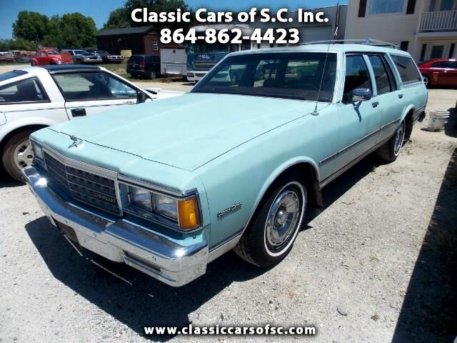 1983 Chevrolet Caprice Classic Wagon Base