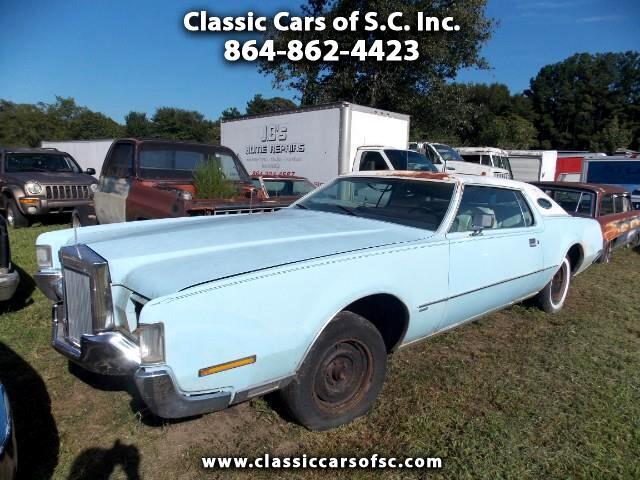 1972 Lincoln Mark VI