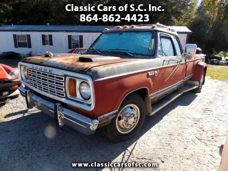 1978 Dodge Ram 3500 2WD Mega Cab 160.5