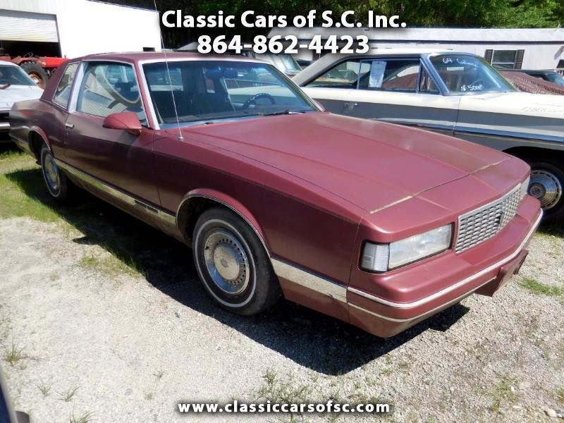 1986 Chevrolet Monte Carlo Base