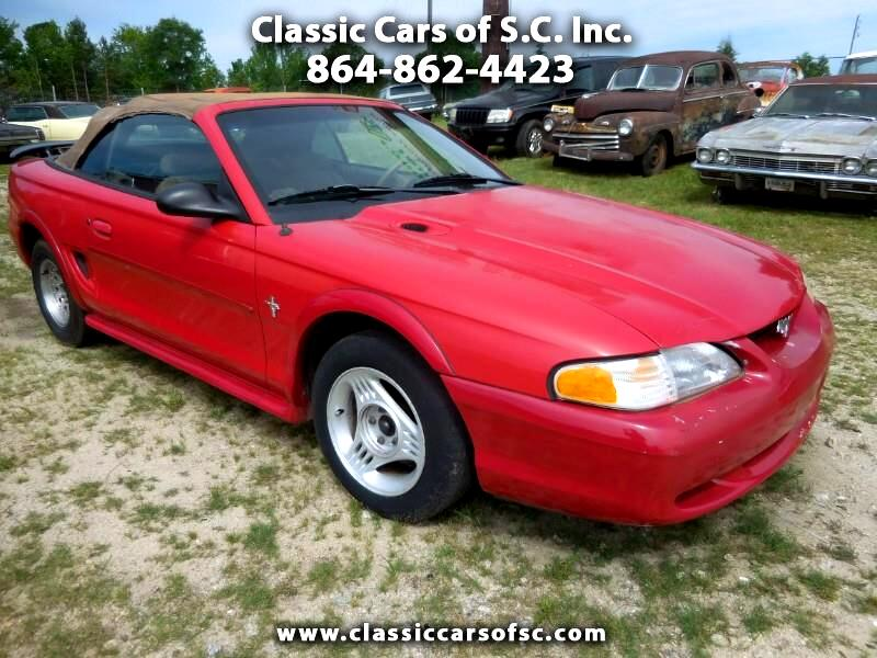 1998 Ford Mustang Convertible