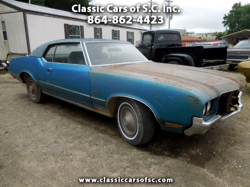 1972 Oldsmobile Cutlass Supreme 2dr Coupe S