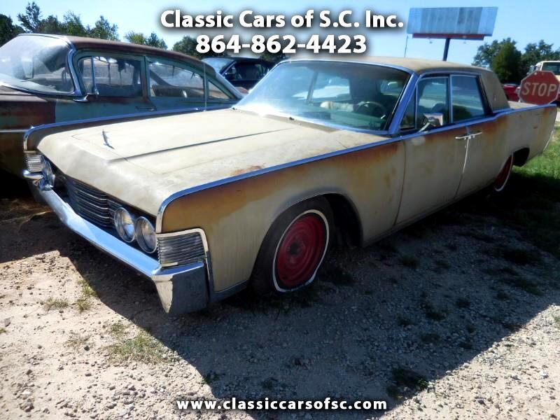 1965 Lincoln Continental 4dr Sedan