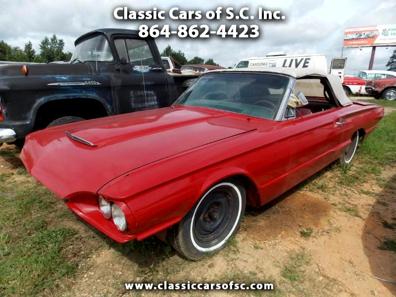 1964 Ford Thunderbird 2dr Convertible Deluxe
