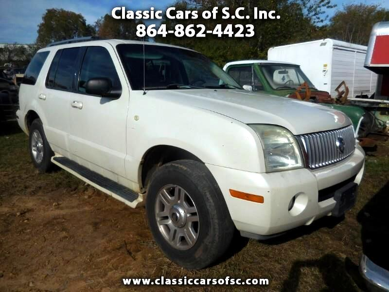 2004 Mercury Mountaineer Convenience 4.6L AWD