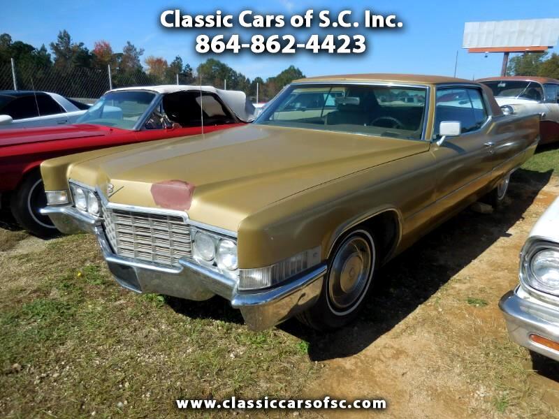 Cadillac Coupe De Ville  1969
