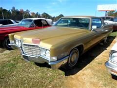 1969 Cadillac Coupe De Ville