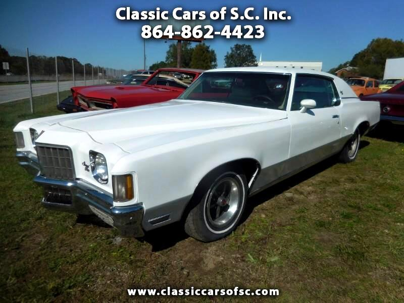 1972 Pontiac Grand Prix California car, just in from Southern California