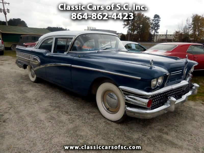 1958 Buick Special Very Solid Car