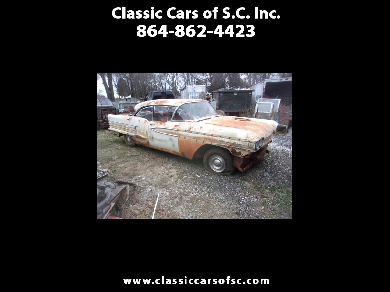 Oldsmobile 88 4dr Sdn 1958