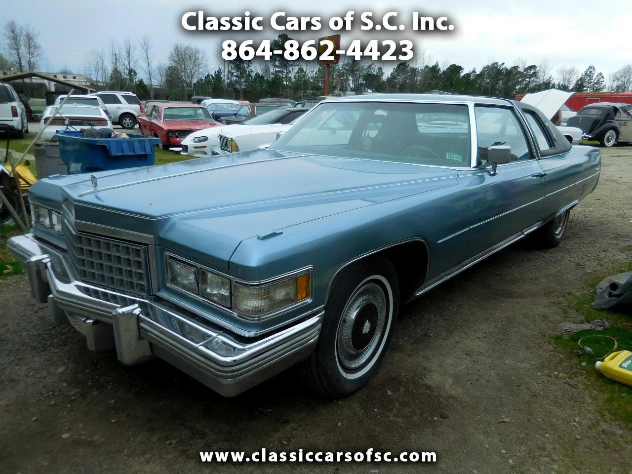 Cadillac Coupe De Ville  1976